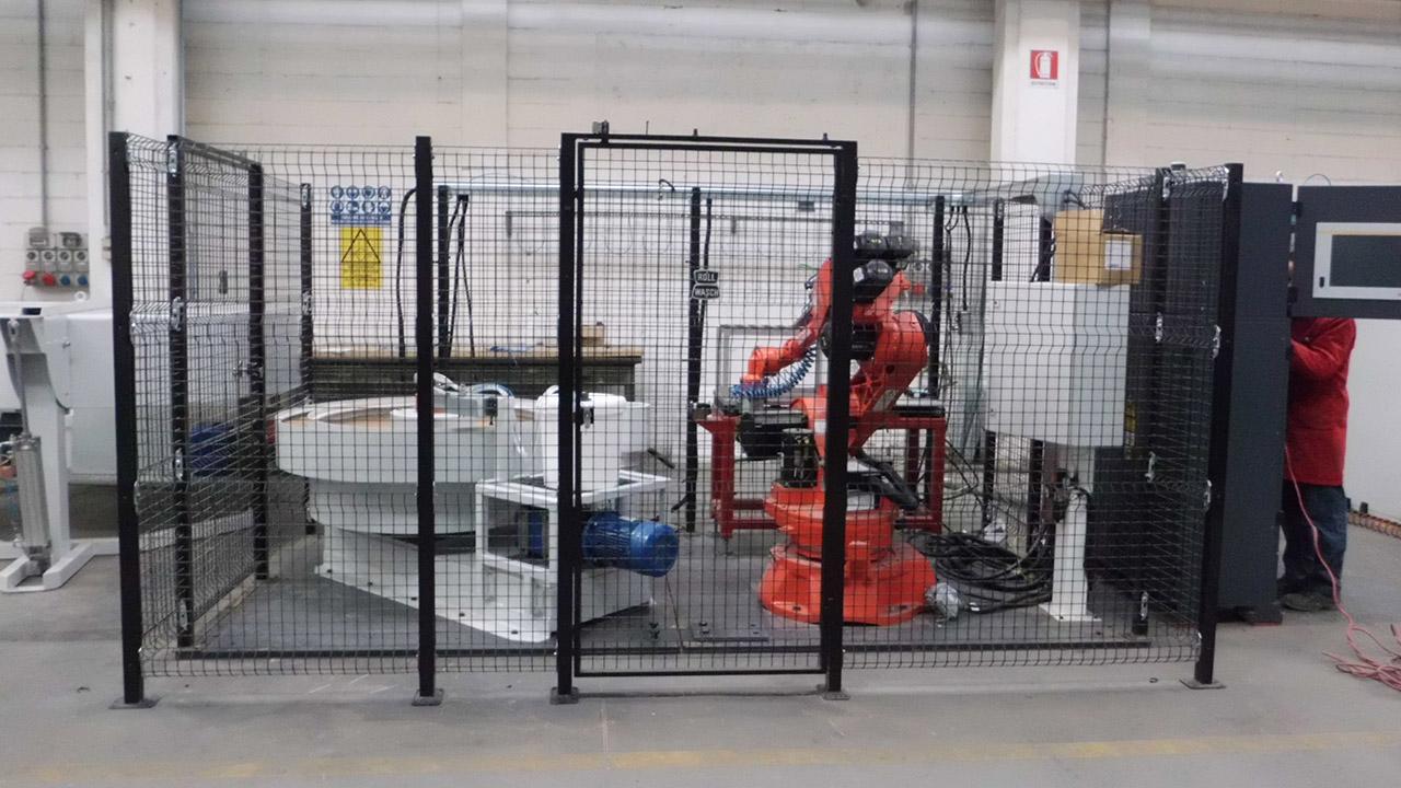 Robot de polissage
